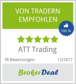 ATT-Trading Bewertung bei Brokerdeal