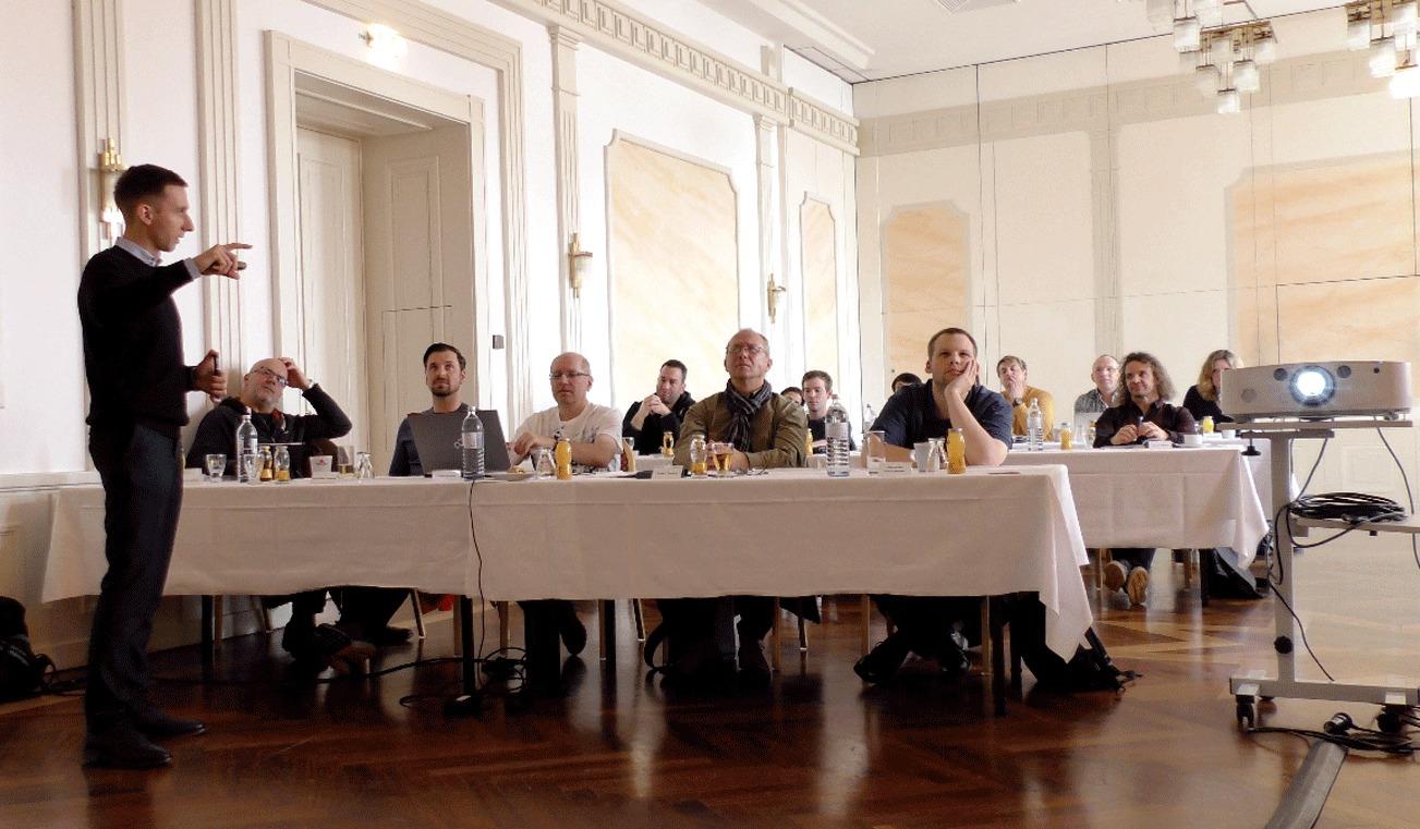ATT Intensiv-Woche in Wien vor Ort