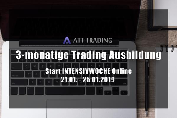 Trading Ausbildung Intensivwoche Online 2019