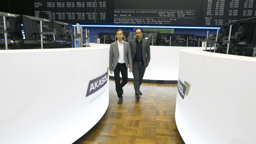 Ali Taghikhan und Stefan Koblitz