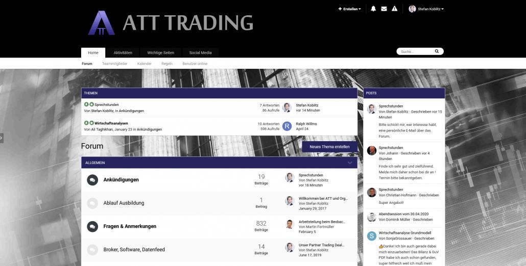 Internes ATT-Trading Forum