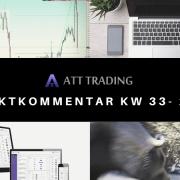 Märkte zeigen sich überwiegend antriebslos - Marktkommentar KW 33/2020