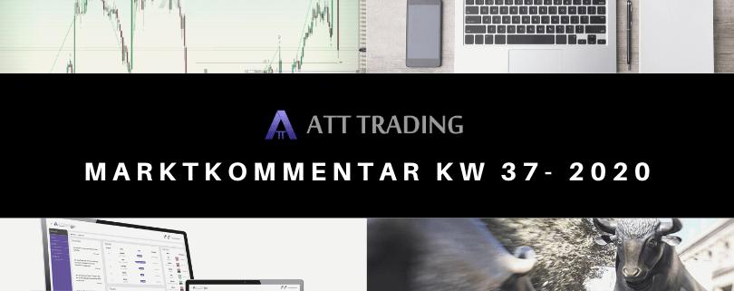 Sell-Off schockt die Märkte - Marktkommentar KW 37/2020