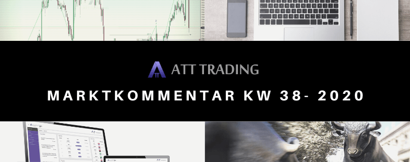 US-Indizes erneut tiefer - Marktkommentar KW 38/2020