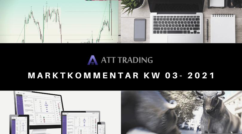 Quartalsberichtsaison hat begonnen - Marktkommentar KW 03/2021