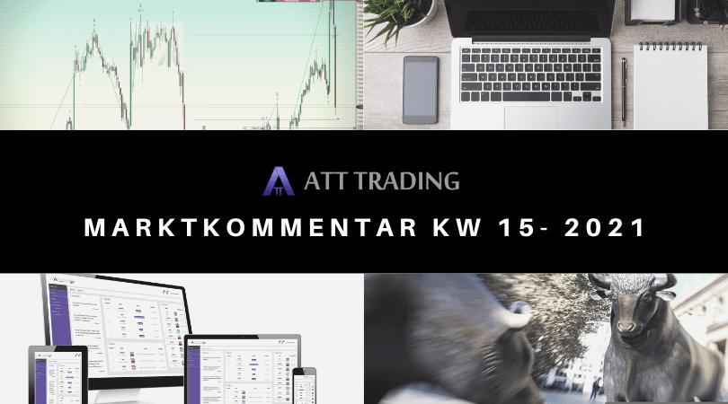 Neue Allzeithochs zum Wochenende - Marktkommentar KW 15/2021