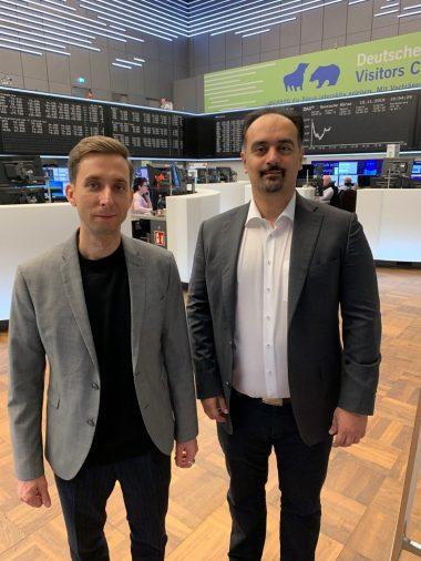 Stefan und Ali an der Börse